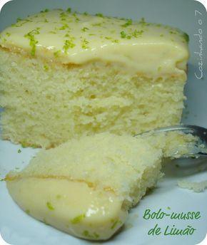 Bolo-musse de Limão