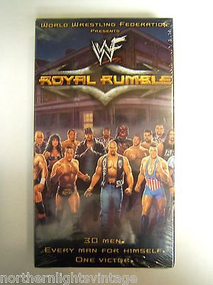 WWF Royal Rumble 2001 VHS Video 3 Hrs New SEALED Wrestling Rock Triple H Angle 651191026739 | eBay