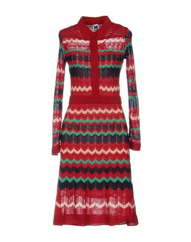 M Missoni Women Knee-Length Dress on YOOX. The best online selection of Knee-Length Dresses M Missoni. YOOX exclusive items of Italian and international designers - Secur...