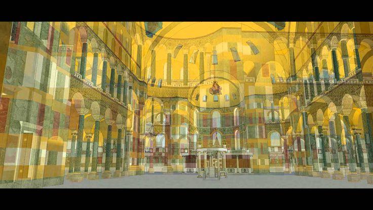 L'église de Sainte Sophie de Constantinople (Video en haute definition)