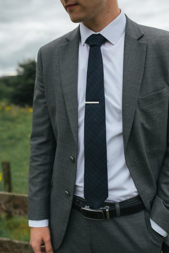men's necktie violet and indigo cashmere wool check by enkelt