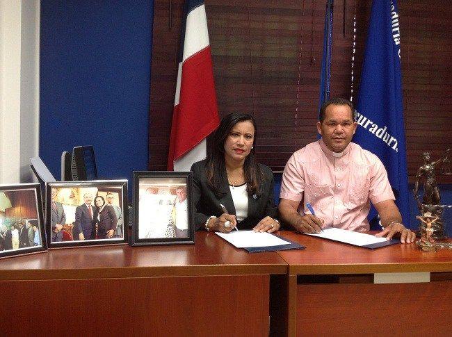 MP y Caritas Diocesana acuerdan trabajo conjunto para prevención de delitos en comunidades de Valverde