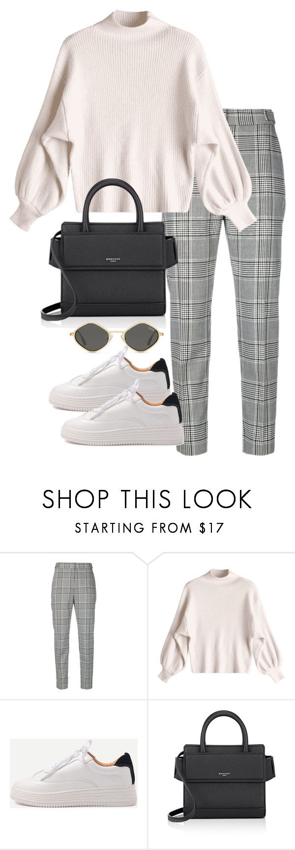 """Untitled #4745"" by theeuropeancloset ❤ liked on Polyvore featuring Alexander Wang, WithChic and Givenchy"