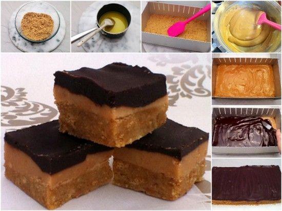 Chocolate Caramel Slice Recipe No Bake