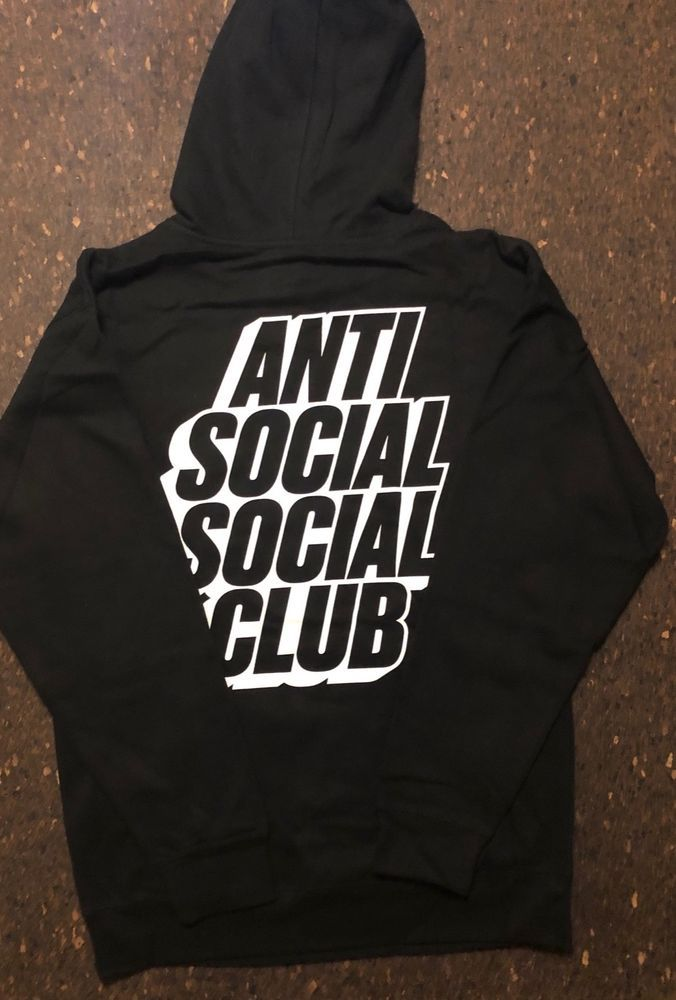 10bdfe3fd ANTI SOCIAL SOCIAL CLUB BLOCKED HOODIE SUPREME OFF-WHITE #fashion #clothing  #shoes #accessories #mensclothing #activewear (ebay link)
