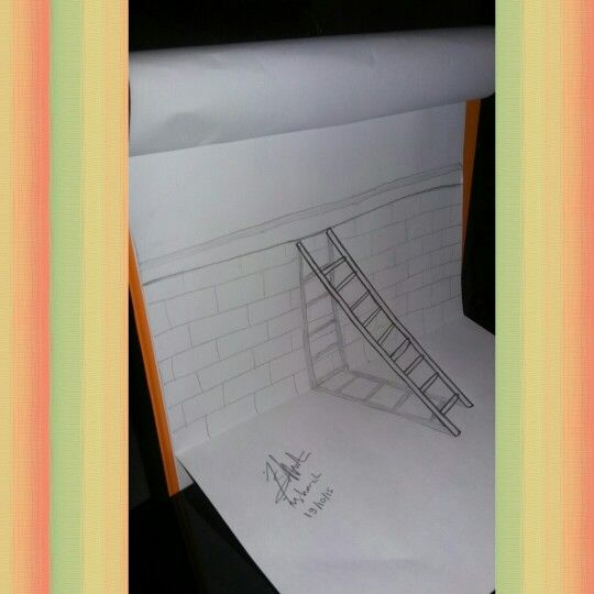 Yey Illusion, 3D art by me