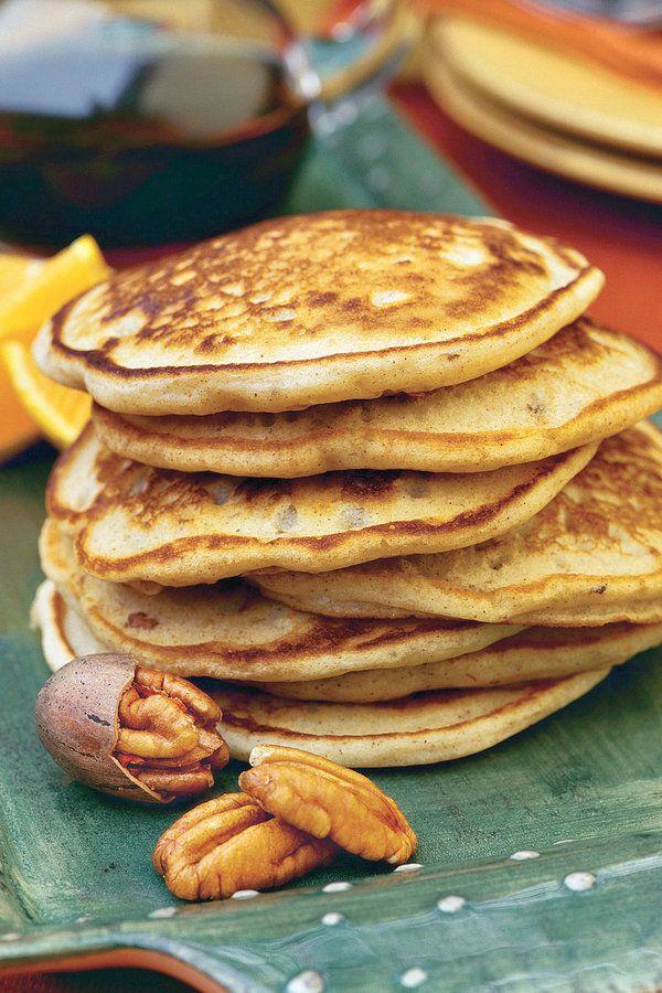Perfect Pancake Recipes. Pecan Pancakes