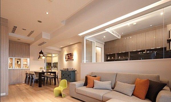 台北自然色温暖居宅 / 耀昀创意设计 - 居宅 - 室内设计师网