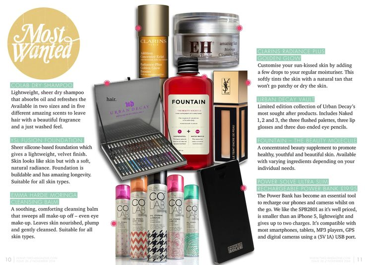 Coverage from TWOmagazine by #Pixiwoos I COLAB™ dry shampoo I SHEER INVISIBLE + EXTREME VOLUME I Available at Superdrug, Feel Unique & Beauty Mart (UK) Penneys (Ireland) London Drugs, Lawtons Drugs & Pharmasave (Canada) Jean Coutu, select Uniprix, Brunet & Familiprix (Quebec) www.colab-hair.com #Hair #Beauty #ColabHairConvert