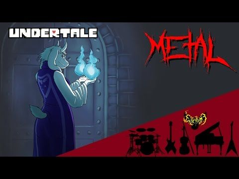 Undertale - Heartache 【Intense Symphonic Metal Cover】 - YouTube