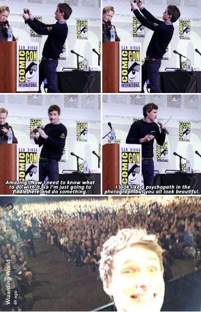 Eddie Redmayne - Fantastic Beasts and Where to Find Them SDCC 2016