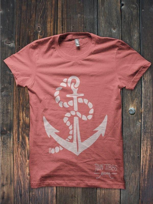 chcem!  Anchor T-Shirt | John Tibbs