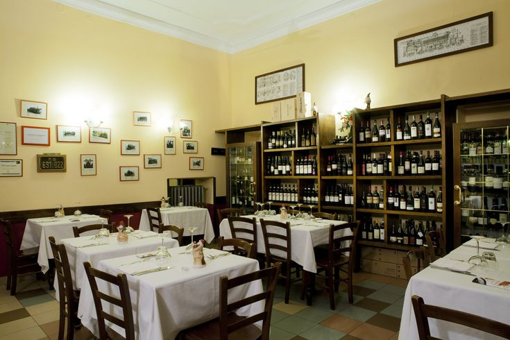 FOOD // Osteria del Treno, Milano. Via san Gregorio 46. Located three blocks from the train station. It remains true to its roots.