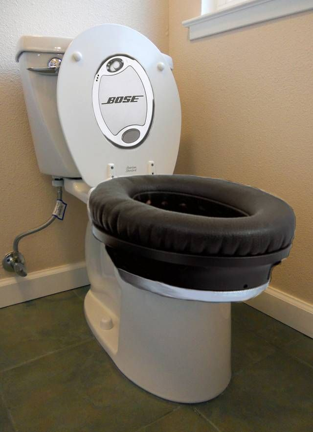 Bose Noise Cancelling Toilet!!! Yes! Finally!!