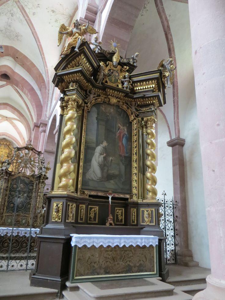 Bronnbach_Kloster_zweiter_rechter_Seitenaltar_Balthasar_Esterbauer_1704_06.jpg (3000×4000)