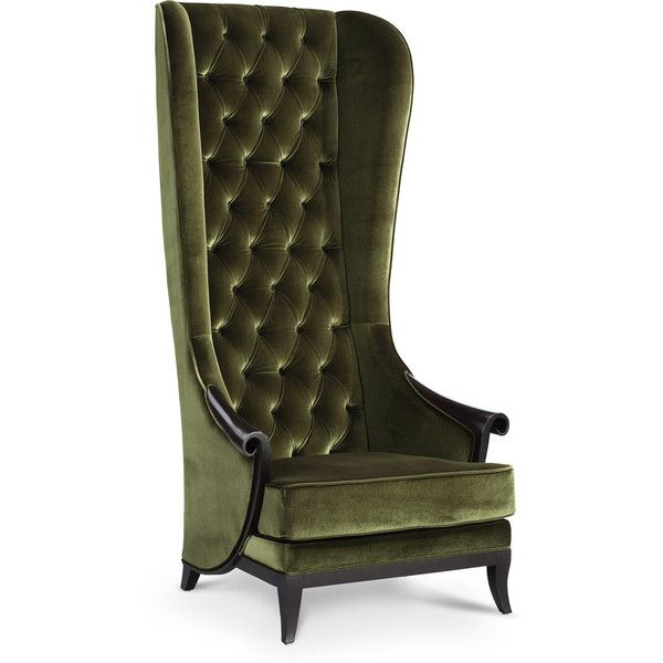 duchess luxury high back chair liked on polyvore featuring home furniture chairs