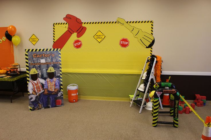 17 Best Images About Construction Birthday Party On