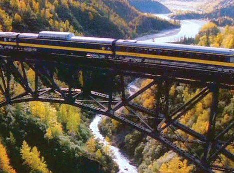 Train to Denali National Park from Anchorage, Alaska