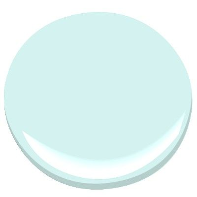 barely teal - 2048-70 benjamin moore - this will really bring light to the room.