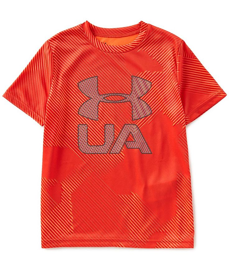 2019 Under Armour Junior Boys Crossfade Graphic T-Shirt UA Sports Kids Tee Top