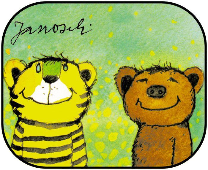 183 besten tiger b r bilder auf pinterest herr janosch janosch tigerente und einstein. Black Bedroom Furniture Sets. Home Design Ideas