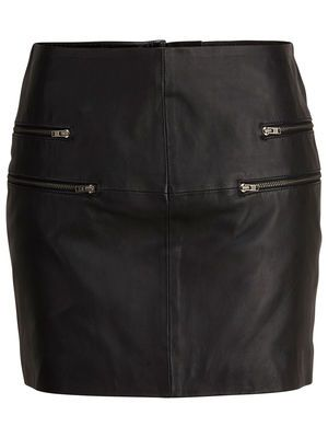 Gorgeous new leather skirt #selectedfemme