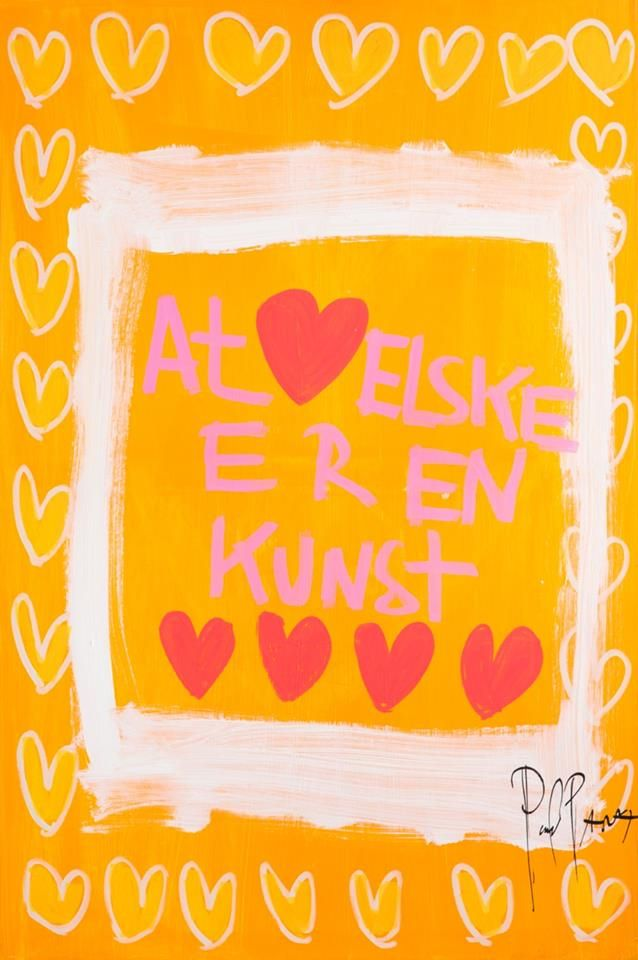 Love (elske = Danish)