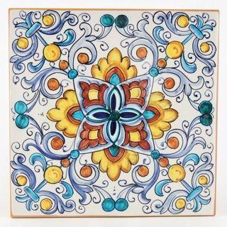 Italian, Deruta, Tile 05