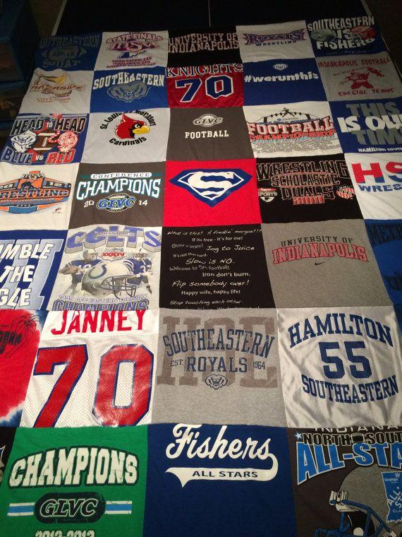 Aangepaste Tshirt gemaakt dekens 30 shirts door TshirtsTransformed