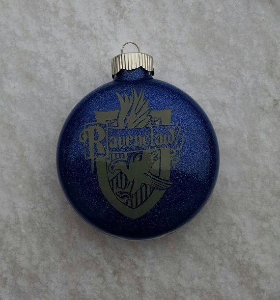 Ravenclaw Hogwarts Christmas Ornament by GretchinsEtchins on Etsy