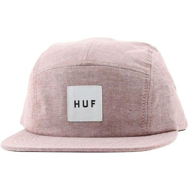 HUF Oxford Volley Adjustable Cap (wine) ($36) ❤ liked on Polyvore featuring accessories, hats, caps, fillers, huf hats, caps hats, wine caps, adjustable cap and adjustable hats