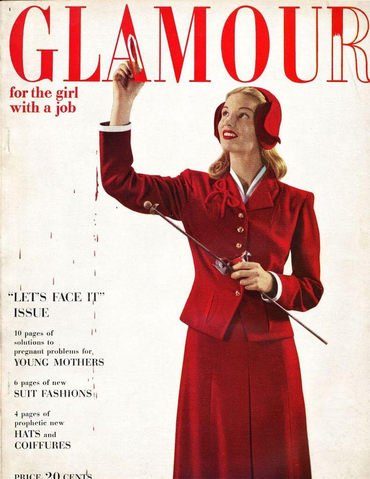 Glamour Magazine Glamour Magazine Cover Glamour