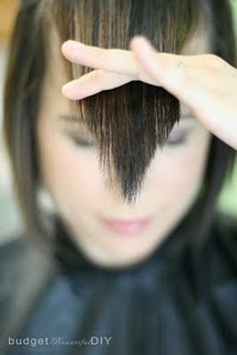 How to cut bangs like Nick Arojo :) want to know how to do this just in case...