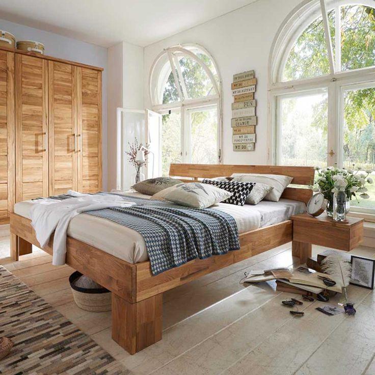 Die besten 25+ übergroße Betten Ideen auf Pinterest Rustikale - schlafzimmer massiv komplett