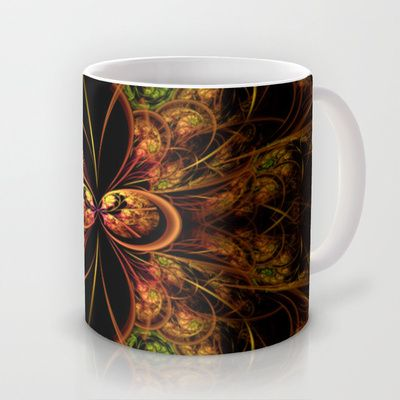 Fractal+Design+Medallion+Mug+by+Fine2art+-+$15.00