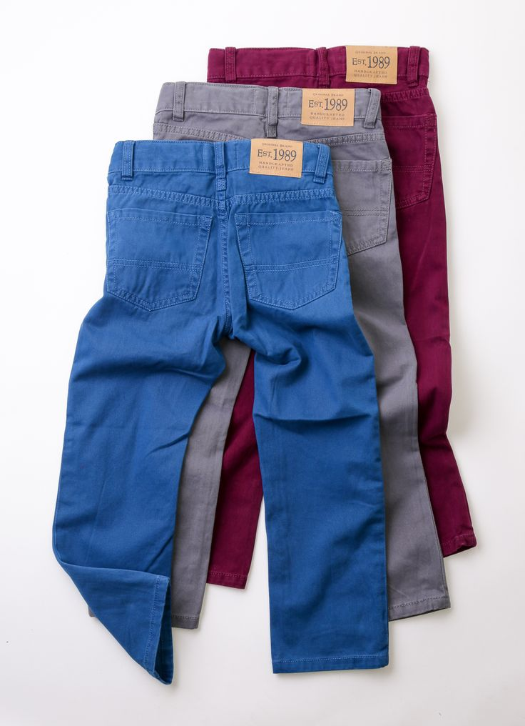 Coloured jeans, $29.95 at The Children's Place.