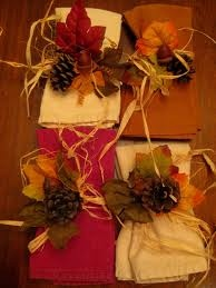 Fall napkin ring diy tablescapes pinterest for Diy fall napkin rings
