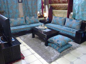 Salons and simple on pinterest - Salon oriental au sol ...