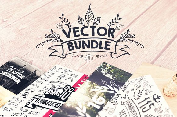 Check out Vector Design Bundle by Layerform on Creative Market