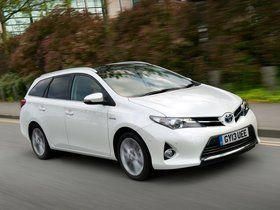 Fotos de Toyota Auris Touring Sports Hybrid UK 2013