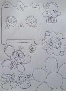 Risco, Molde de Desenhos para Artesato e Patchwork - VIVARTESANATO, RECICLANDO, DESIGN E DECORAÇÃO