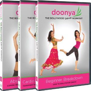 Get your Bollywood Dance on with these workout DVDs! #dance #Bollywood #workout