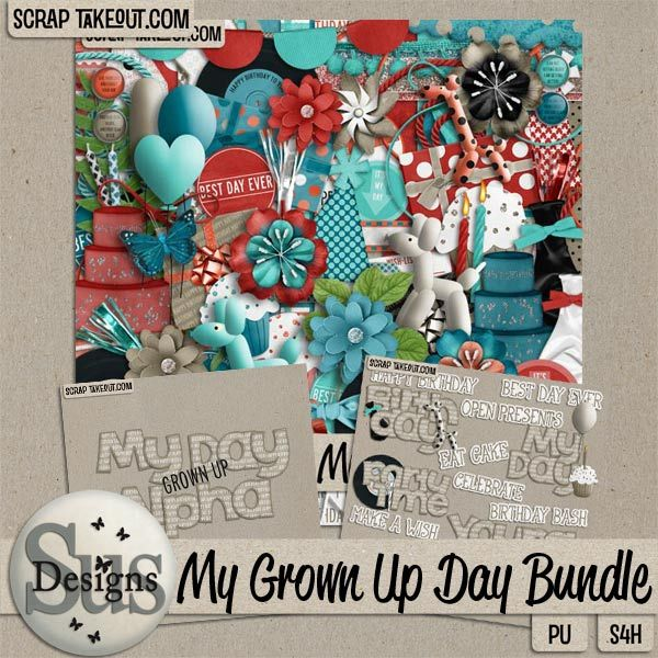 My Grown Up Day Bundle