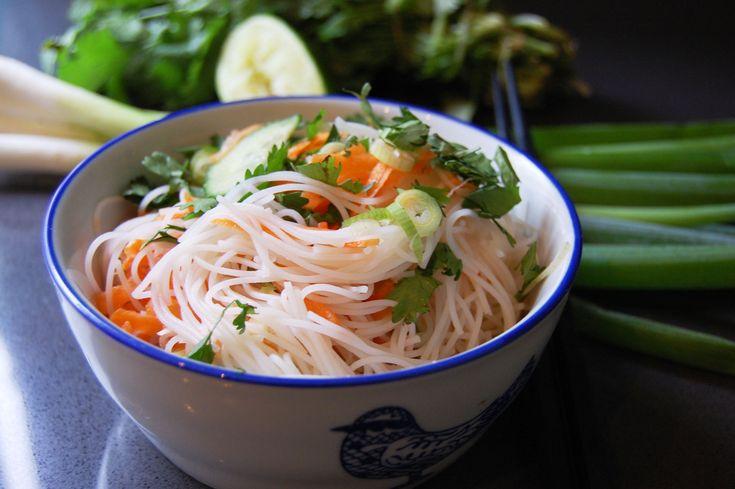 Culy Homemade: Vietnamese rijstnoedelsalade
