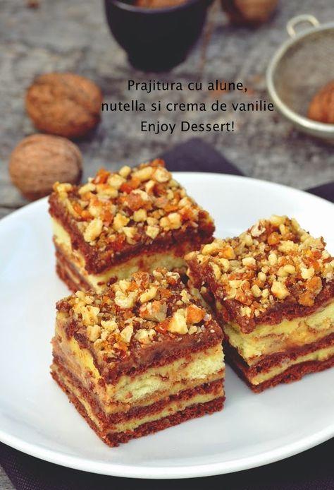 Hzelnut, Nutella & Vanilla Cream Chocolate Cake - Yummy!