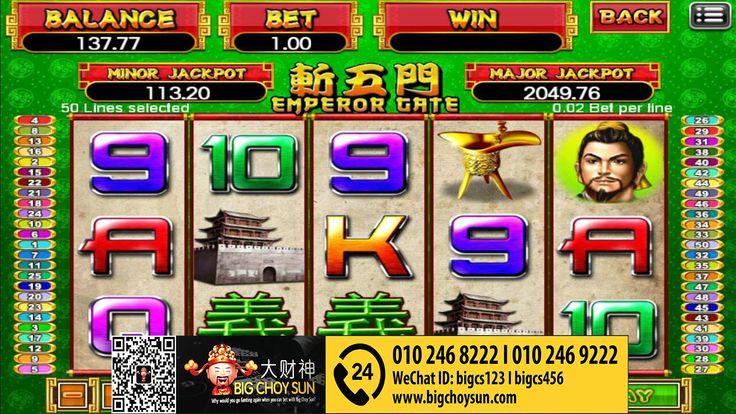 Free Slot Emperor Gate