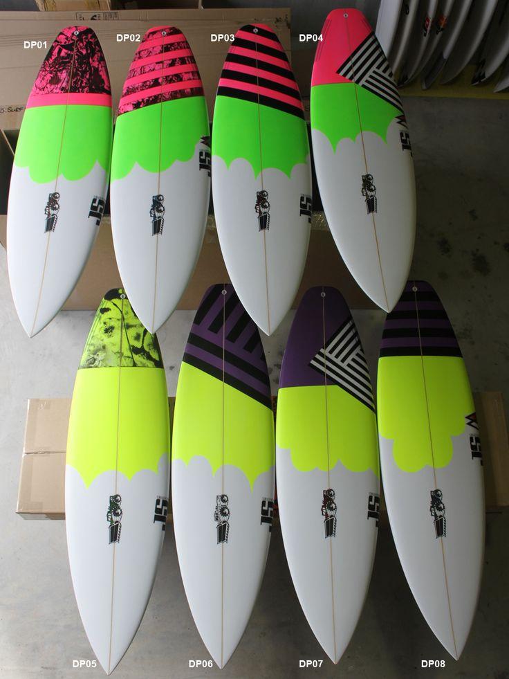 Surfboard Sprays - JS Industries