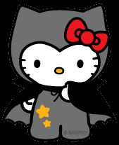 Hello Kitty Halloween - Dracula