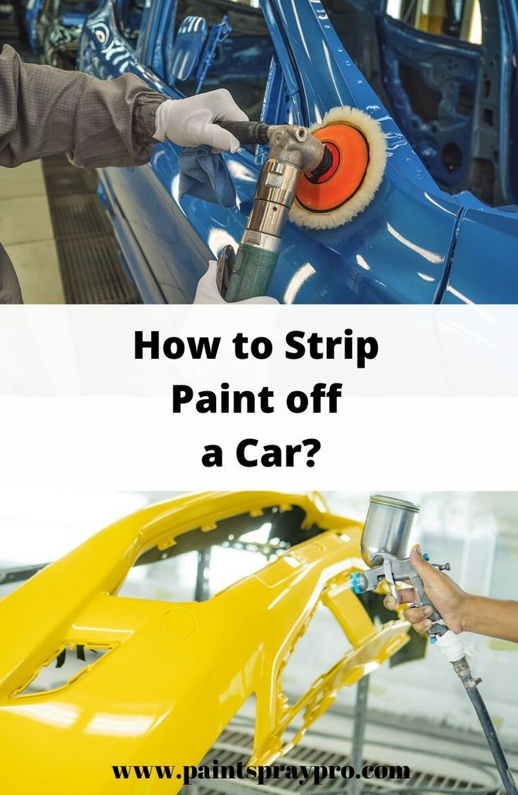 How To Prep a Car For Paint in 2020 Stripping paint