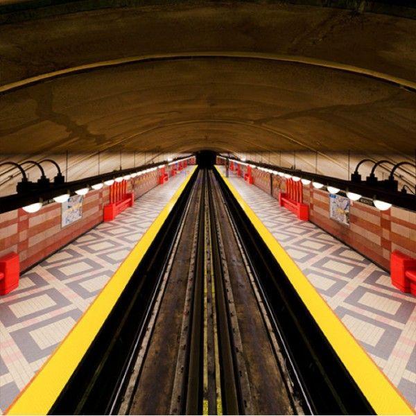 Métro de Montréal - Alexandre Chamelat